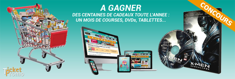 concours ticket promo