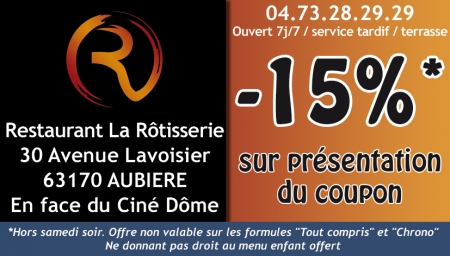 Coupon La rotisserie
