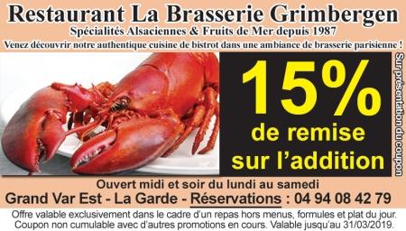 Coupon Brasserie Kanterbrau
