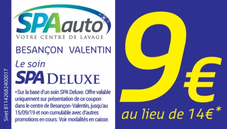 Coupon Spa Auto