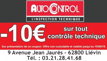 Coupon Autocontrol