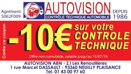 Coupon Autovision