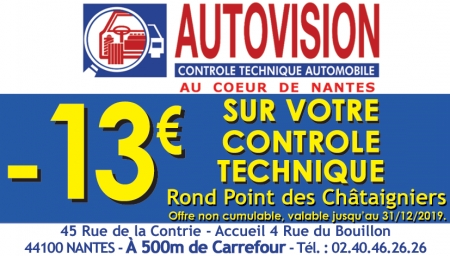 Coupon Autovision