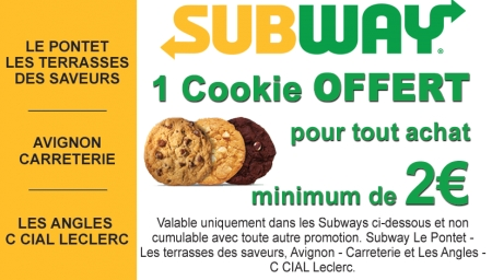 Coupon Subway