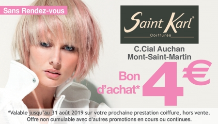 Coupon Saint Karl