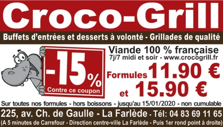 Coupon Croco Grill