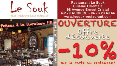 Coupon Le Souk