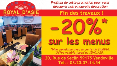 Coupon Royal d'Asie