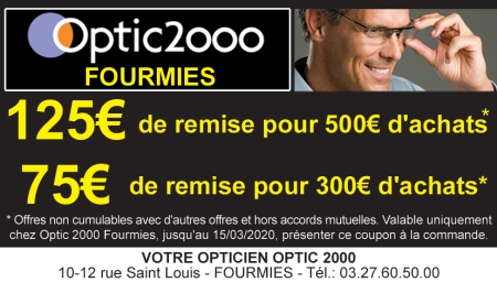 Coupon Optic 2000