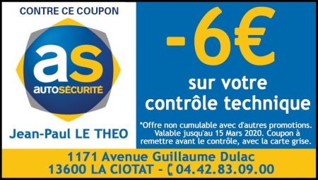 Coupon Autosecurite