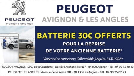 Coupon Peugeot
