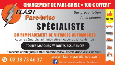 Coupon Flash Pare Brise