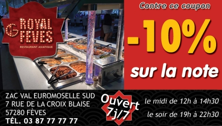 Coupon Royal de fèves