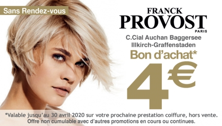 Coupon Franck Provost