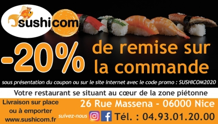 Coupon Sushicom