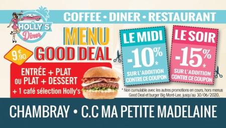 Coupon Holly's Diner