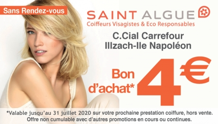 Coupon Saint Algue