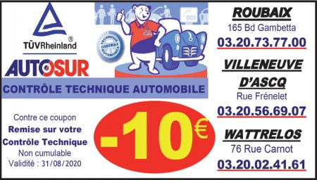 Coupon Autosur