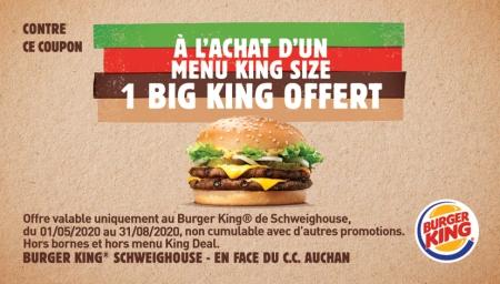 Coupon Burger King