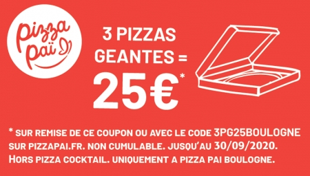 Coupon Pizza Pai