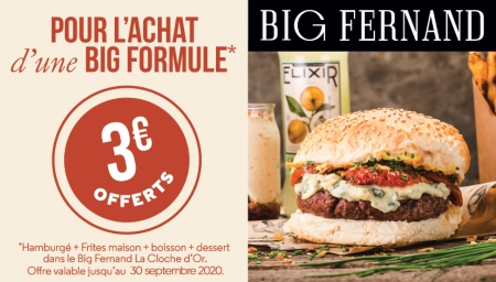 Coupon Big Fernand