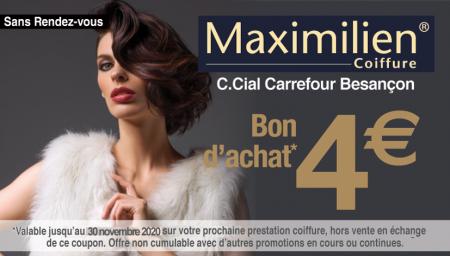 Coupon Maximilien Coiffure