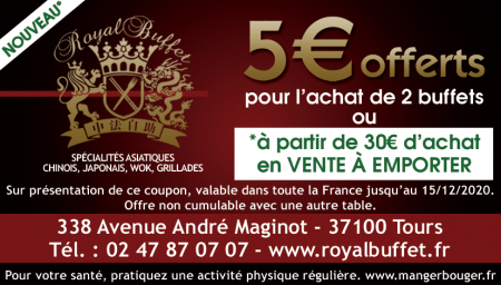 Coupon Royal Buffet