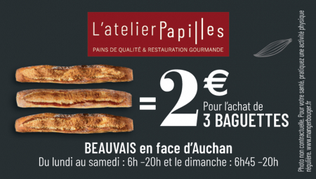 Coupon L'atelier Papilles