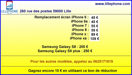 Coupon LILLEPHONE