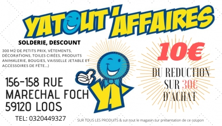Coupon YATOUT'AFFAIRES