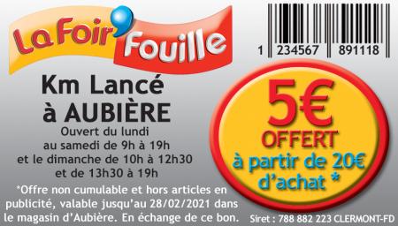 Coupon La Foir'Fouille