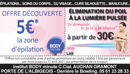 Coupon Body Minute