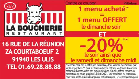 Coupon La Boucherie