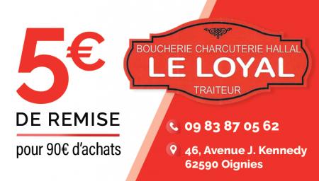Coupon Boucherie Le Loyal
