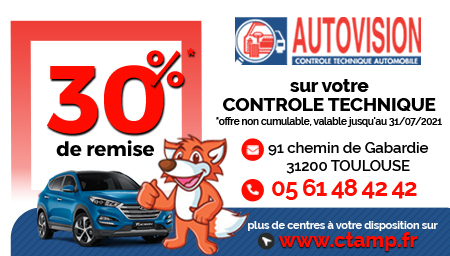Coupon AUTOVISION Toulouse