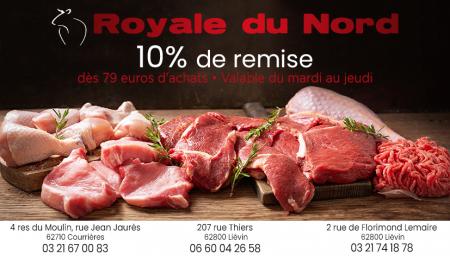 Coupon Boucherie Royale du Nord