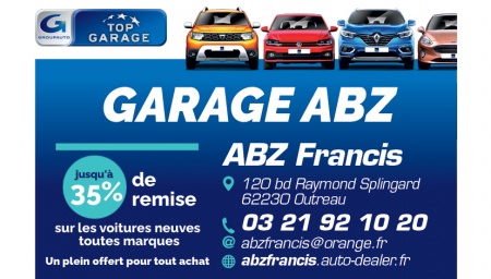 Coupon GARAGE ABZ