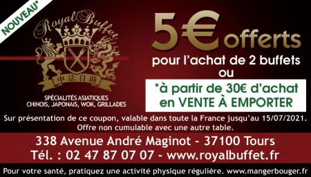 Coupon Royal Buffet