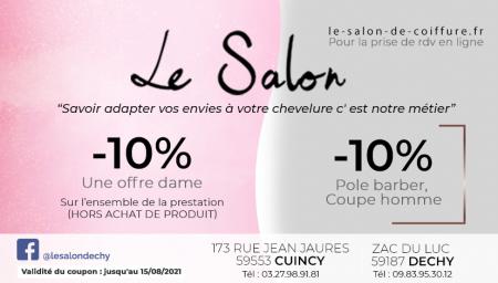 Coupon Le Salon