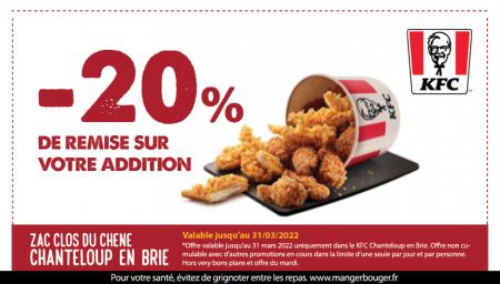 Coupon KFC Chanteloup-en-Brie