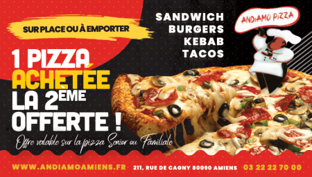 Coupon ANDIAMO PIZZA