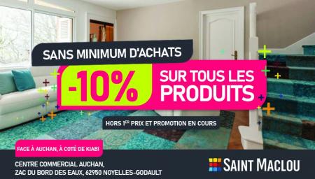 Coupon Saint Maclou Noyelles-Godault