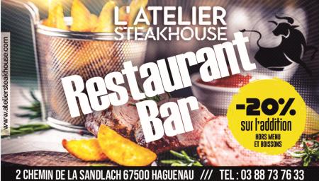 Coupon L'Atelier Steakhouse