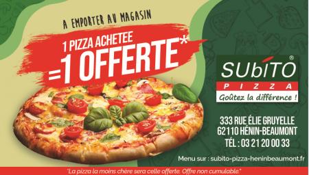Coupon Subito Pizza
