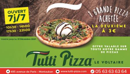 Coupon Tutti Pizza