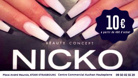 Coupon Nicko Beauty Concept