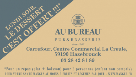 Coupon Au Bureau