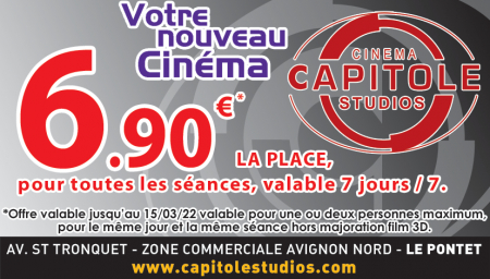 Coupon Capitole Studio