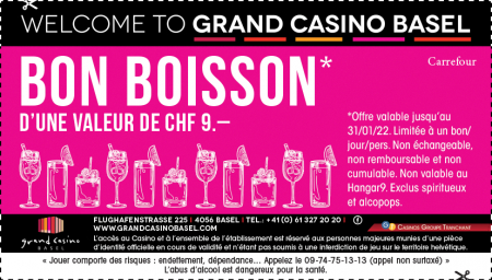 Coupon Grand Casino Basel