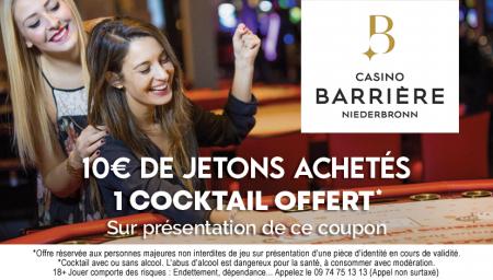 Coupon Casino Barrière Niederbronn